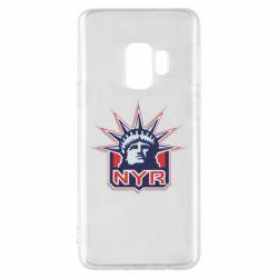 Чехол для Samsung S9 New York Rangers - FatLine