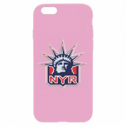 Чехол для iPhone 6/6S New York Rangers - FatLine