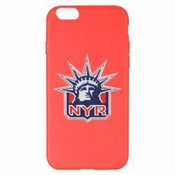 Чехол для iPhone 6 Plus/6S Plus New York Rangers - FatLine
