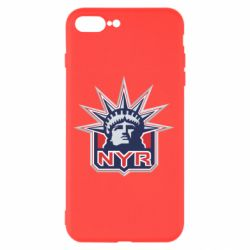 Чехол для iPhone 8 Plus New York Rangers - FatLine