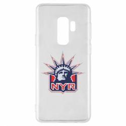 Чехол для Samsung S9+ New York Rangers - FatLine
