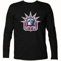 Футболка с длинным рукавом New York Rangers - FatLine