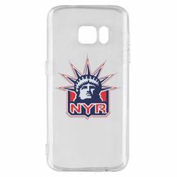 Чехол для Samsung S7 New York Rangers - FatLine