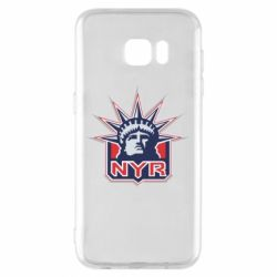 Чехол для Samsung S7 EDGE New York Rangers - FatLine