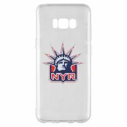 Чехол для Samsung S8+ New York Rangers - FatLine