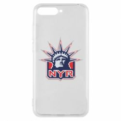 Чехол для Huawei Y6 2018 New York Rangers - FatLine