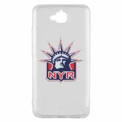 Чехол для Huawei Y6 Pro New York Rangers - FatLine