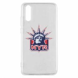 Чехол для Huawei P20 New York Rangers - FatLine