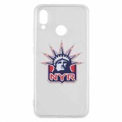 Чехол для Huawei P20 Lite New York Rangers - FatLine
