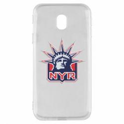 Чехол для Samsung J3 2017 New York Rangers - FatLine