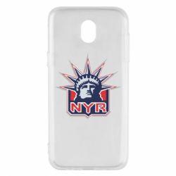 Чехол для Samsung J5 2017 New York Rangers - FatLine
