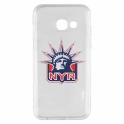 Чехол для Samsung A3 2017 New York Rangers - FatLine