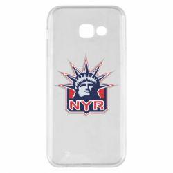 Чехол для Samsung A5 2017 New York Rangers - FatLine