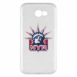 Чехол для Samsung A7 2017 New York Rangers - FatLine