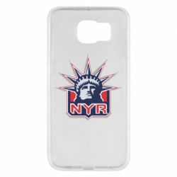 Чехол для Samsung S6 New York Rangers - FatLine