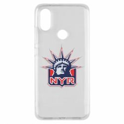 Чехол для Xiaomi Mi A2 New York Rangers - FatLine