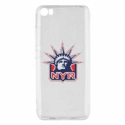 Чехол для Xiaomi Xiaomi Mi5/Mi5 Pro New York Rangers - FatLine