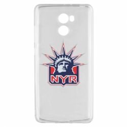 Чехол для Xiaomi Redmi 4 New York Rangers - FatLine