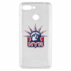 Чехол для Xiaomi Redmi 6 New York Rangers - FatLine
