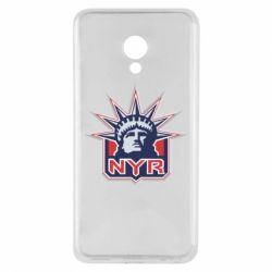 Чехол для Meizu M5 New York Rangers - FatLine