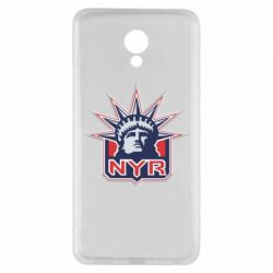 Чехол для Meizu M5 Note New York Rangers - FatLine