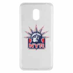 Чехол для Meizu M6 New York Rangers - FatLine
