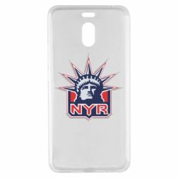 Чехол для Meizu M6 Note New York Rangers - FatLine