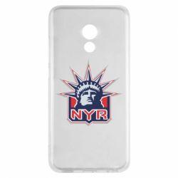 Чехол для Meizu Pro 6 New York Rangers - FatLine