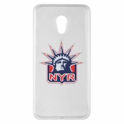 Чехол для Meizu Pro 6 Plus New York Rangers - FatLine