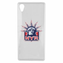 Чехол для Sony Xperia X New York Rangers - FatLine