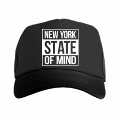 Кепка-тракер New York state of mind