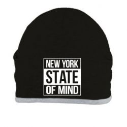 Шапка New York state of mind