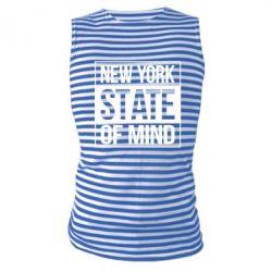 Майка-тельняшка New York state of mind
