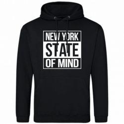 Мужская толстовка New York state of mind