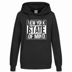 Женская толстовка New York state of mind