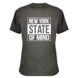 Камуфляжная футболка New York state of mind