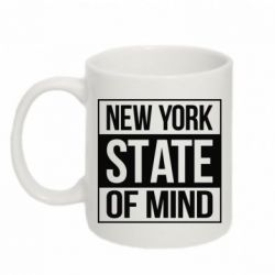Кружка 320ml New York state of mind