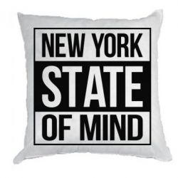 Подушка New York state of mind