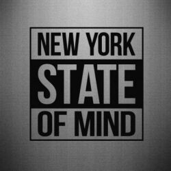 Наклейка New York state of mind