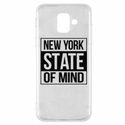 Купить Нью Йорк (New York), Чехол для Samsung A6 2018 New York state of mind, FatLine