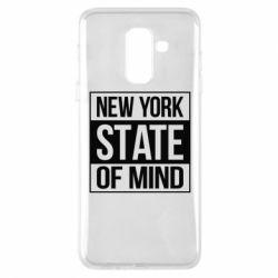 Купить Нью Йорк (New York), Чехол для Samsung A6+ 2018 New York state of mind, FatLine