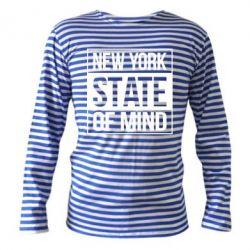 Тільняшка з довгим рукавом New York state of mind