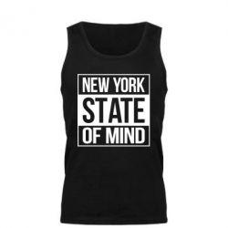 Мужская майка New York state of mind