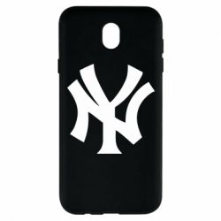 Чехол для Samsung J7 2017 New York yankees - FatLine