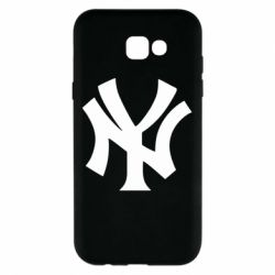 Чехол для Samsung A7 2017 New York yankees - FatLine