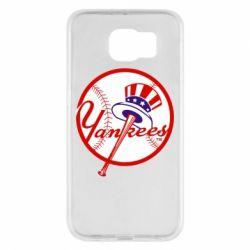 Чохол для Samsung S6 New York Yankees
