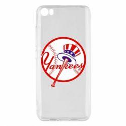 Чохол для Xiaomi Mi5/Mi5 Pro New York Yankees
