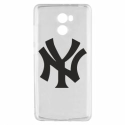 Чехол для Xiaomi Redmi 4 New York yankees - FatLine