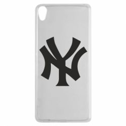 Чехол для Sony Xperia XA New York yankees - FatLine