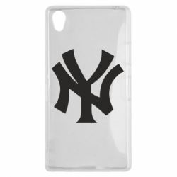 Чехол для Sony Xperia Z1 New York yankees - FatLine